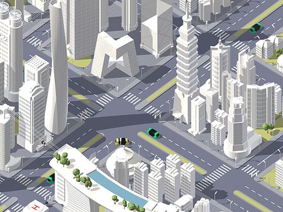 VW Future Center Beijing – Energetic City